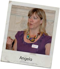 Angela framed